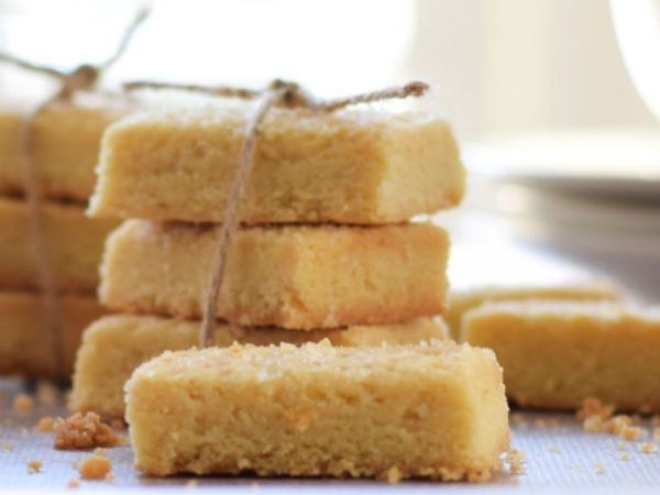 Shortbread (Made with just 3 Ingredients)
