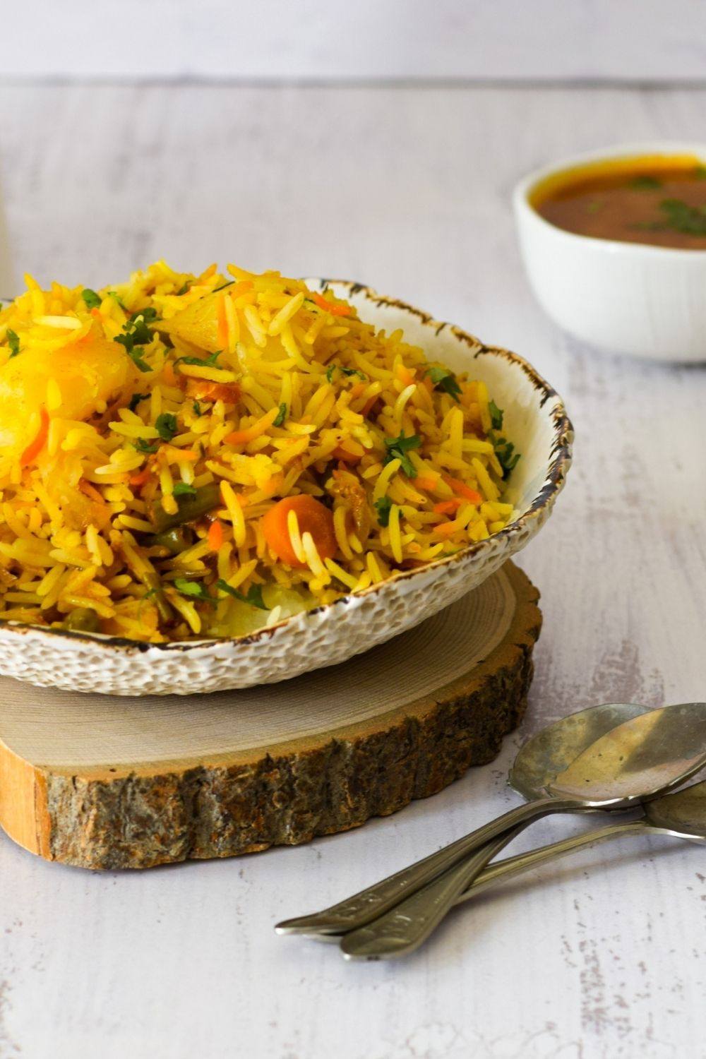 Vegetable Biryani Tamarind Thyme