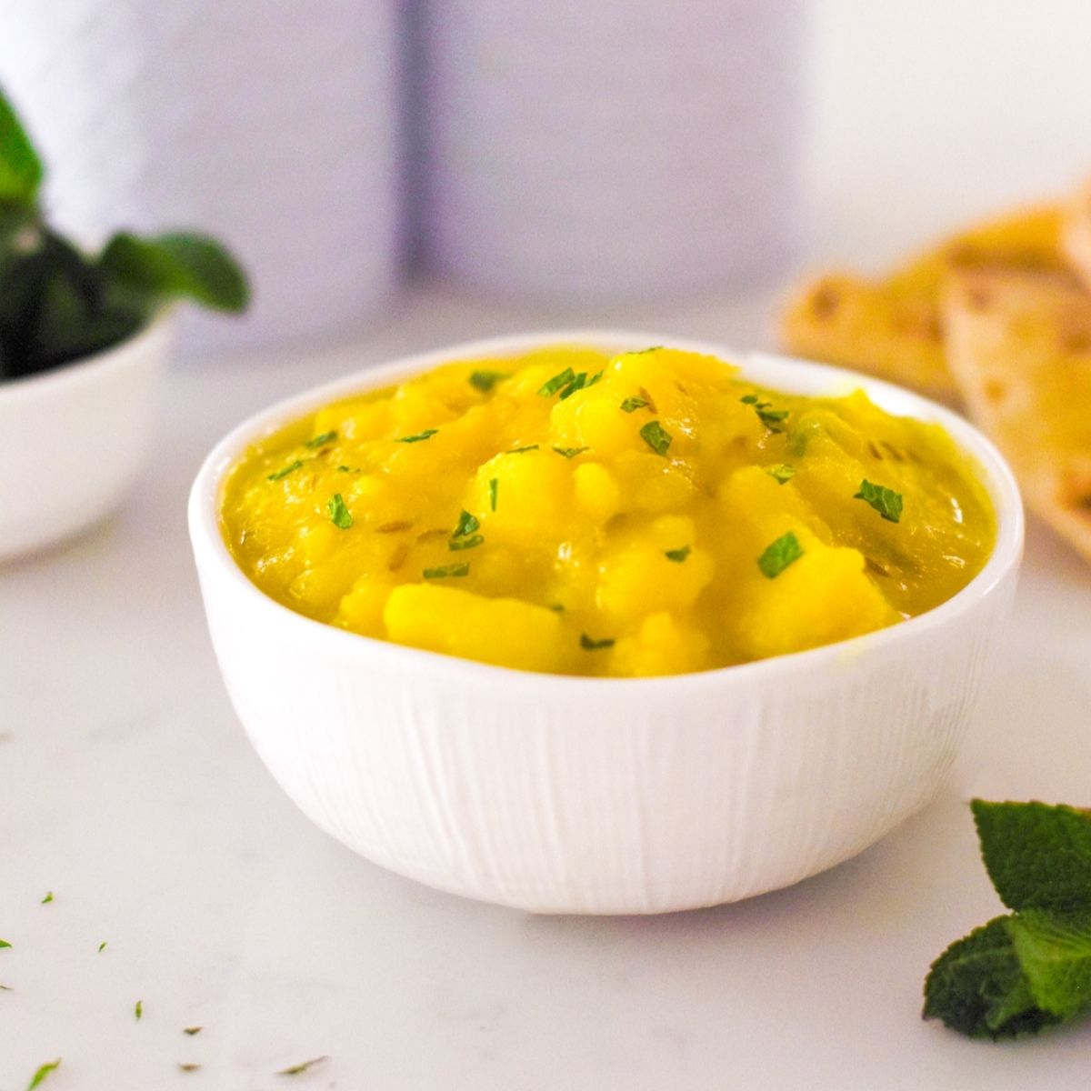Yellow Potato Curry with Cumin