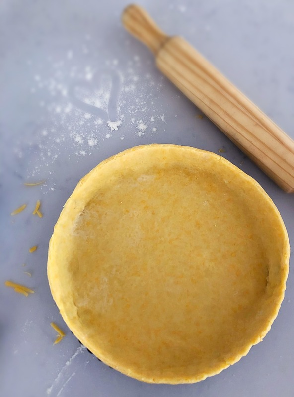 Quick and Easy Quiche Pastry (With Cheese)