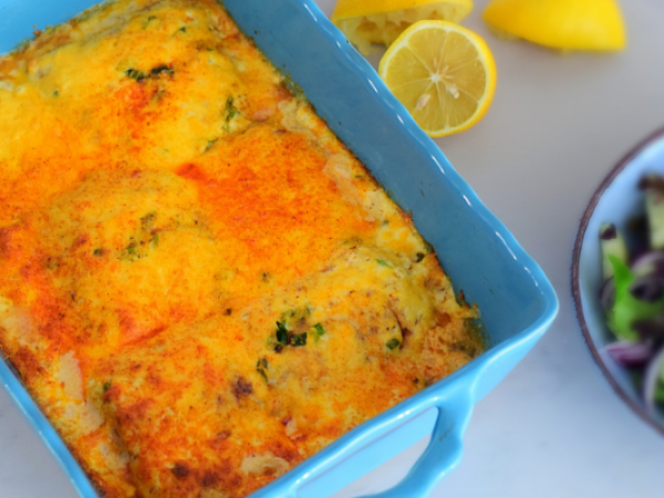 Creamy Fish Bake
