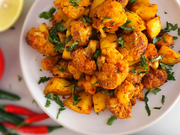 Cauliflower and Potato (Aloo Gobi)