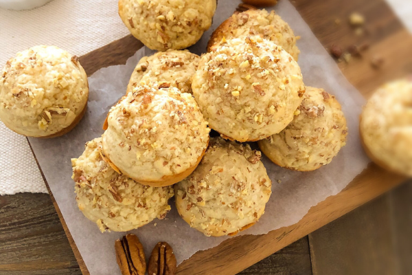 Egg-free Banana Coconut Muffins