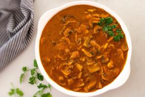 Mushroom Curry : Mushroom Masala