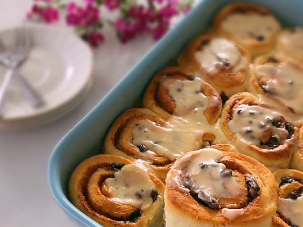 Chocolate Cinnamon Buns