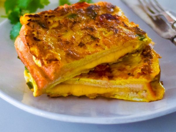 Indian-Style Bread Omelette