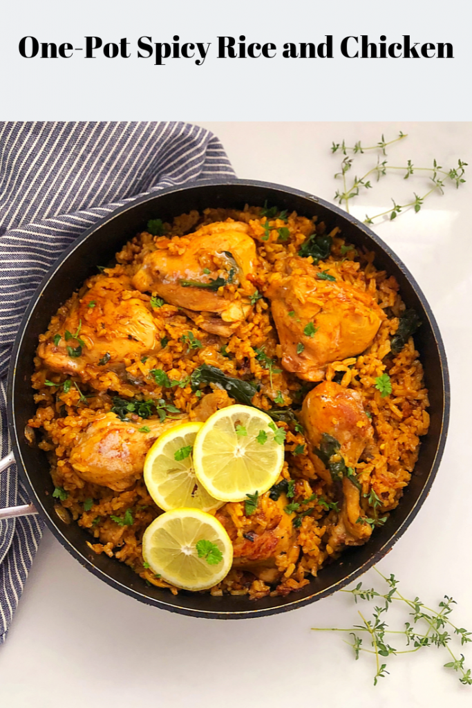 Quick and Easy One-Pot Spicy Rice and Chicken