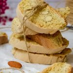 Almond Biscotti tied with a string