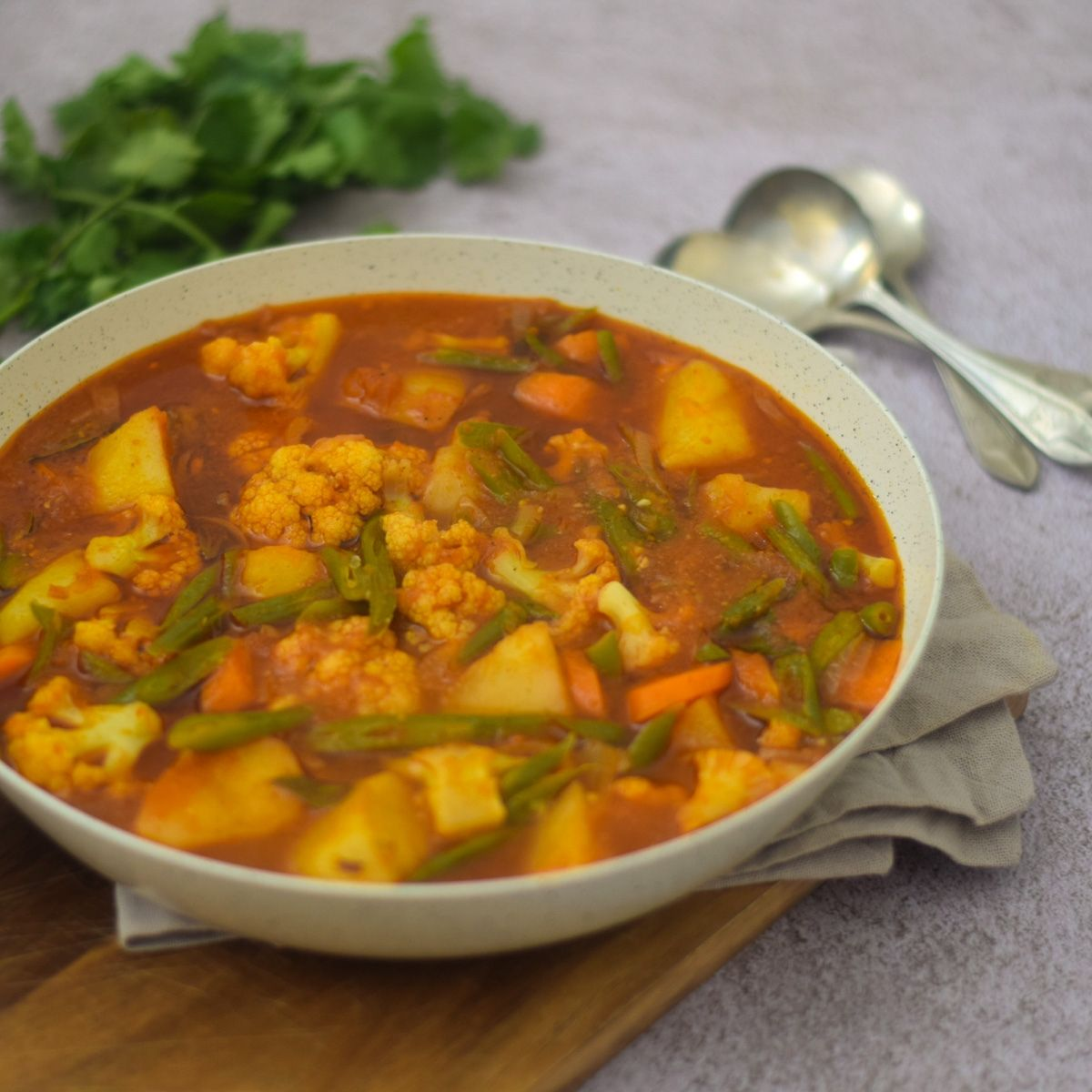 Durban Mixed Vegetable Curry