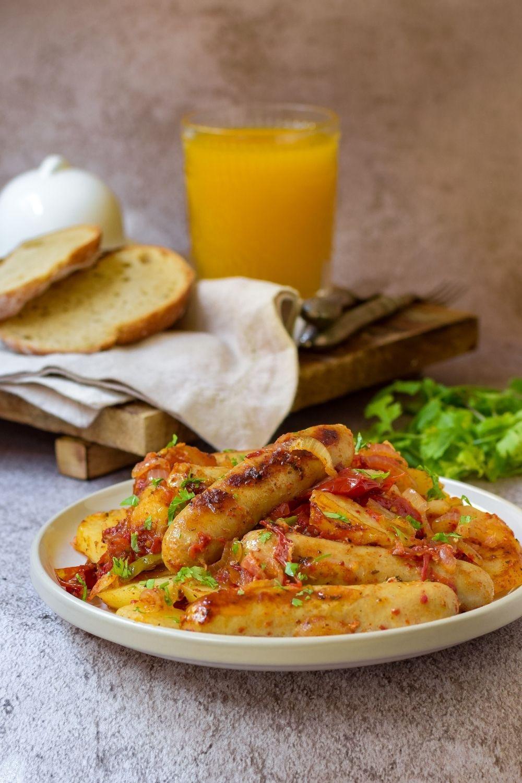 One Pan Sausage Casserole