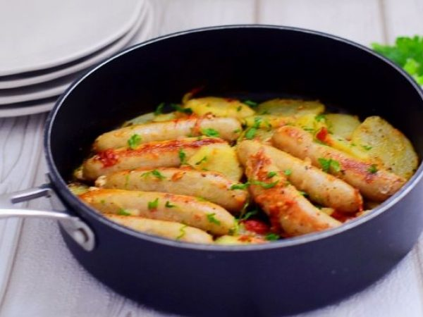 One-Pan Sausage Casserole