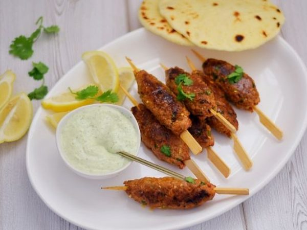 Spicy Indian Lamb Kebabs