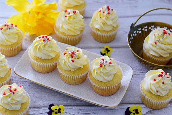 Burfee Cupcakes