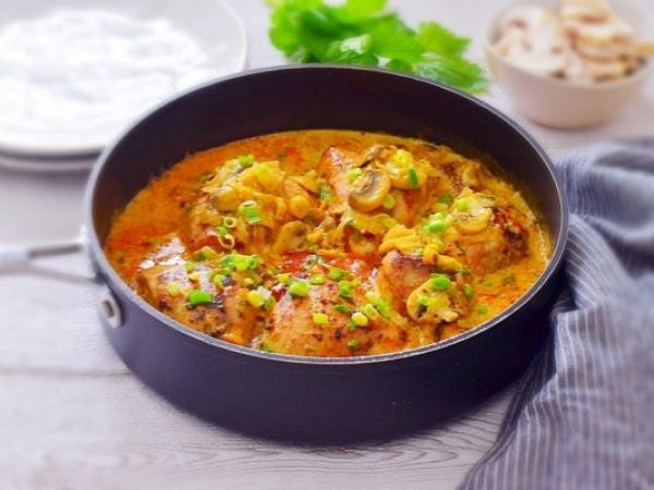 Creamy Chicken Mushroom Leek Casserole