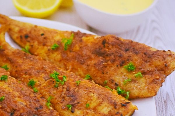 Lightly Dusted Pan Fried Fish