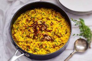 Mushroom Pilaf Rice