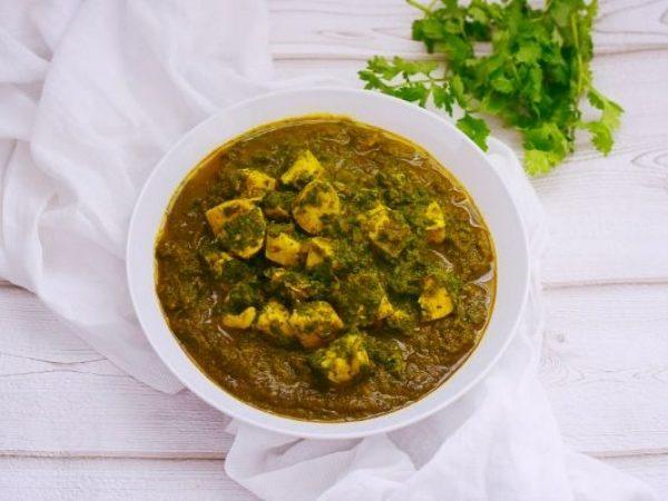Palak Chicken Curry – Spinach and Chicken