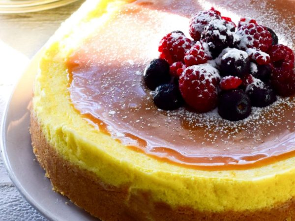 Basic Baked Cheesecake Recipe