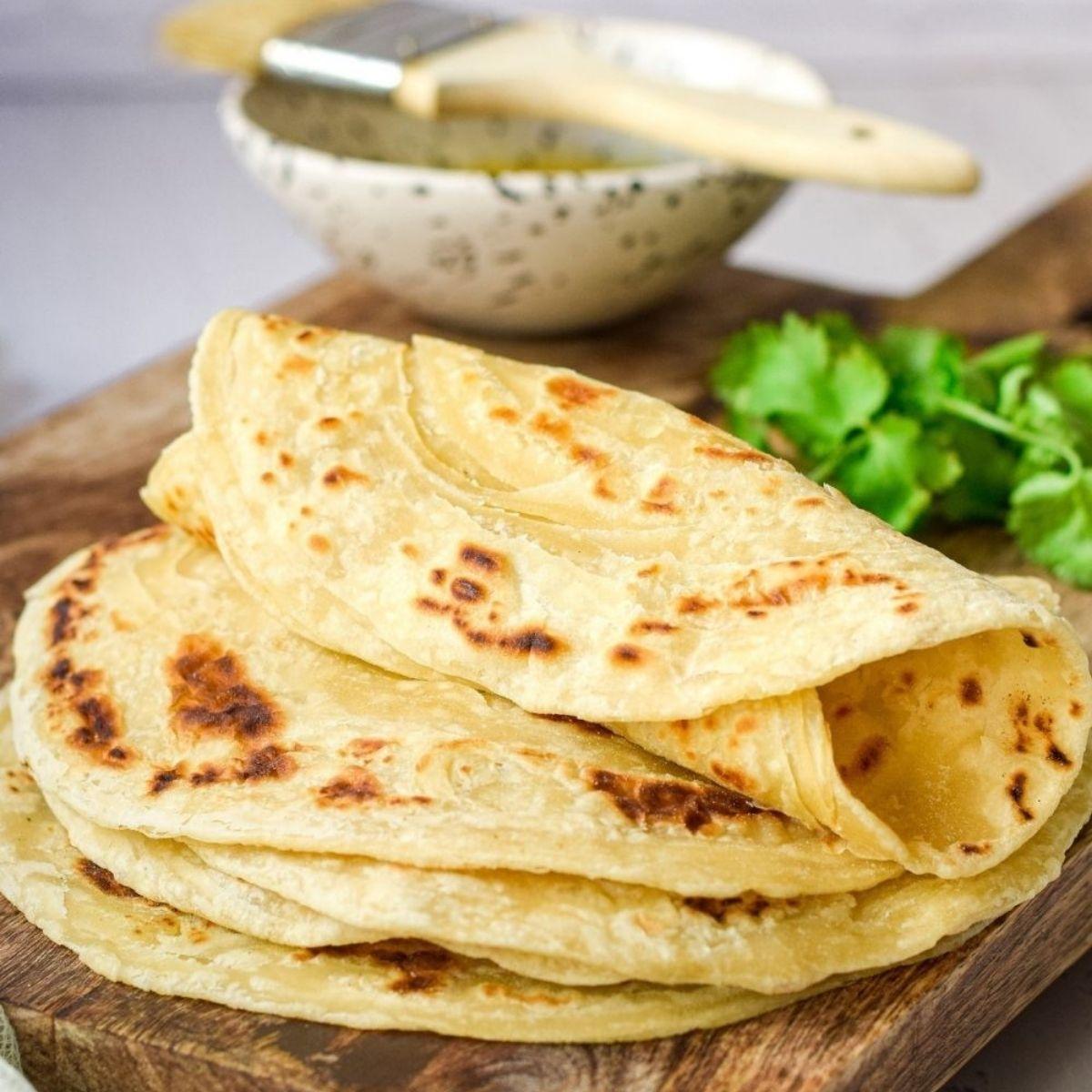 Flaky Roti Paratha
