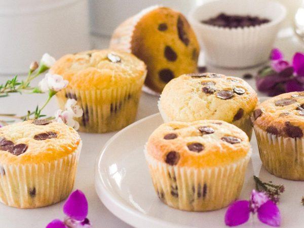 Vanilla Choc-Chip Muffins