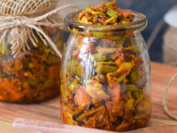 Indian Mixed Vegetable Pickle