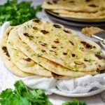 Buttery Garlic Naan Bread
