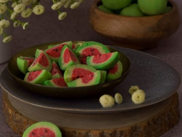 Watermelon Burfee