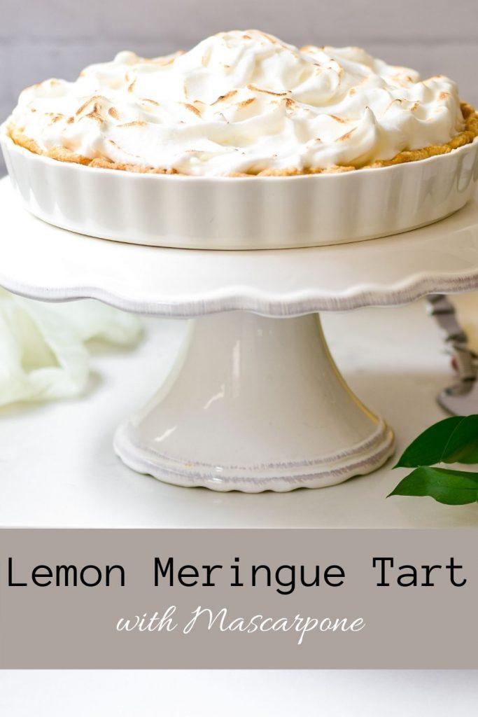 Lemon Meringue Tart with Mascarpone