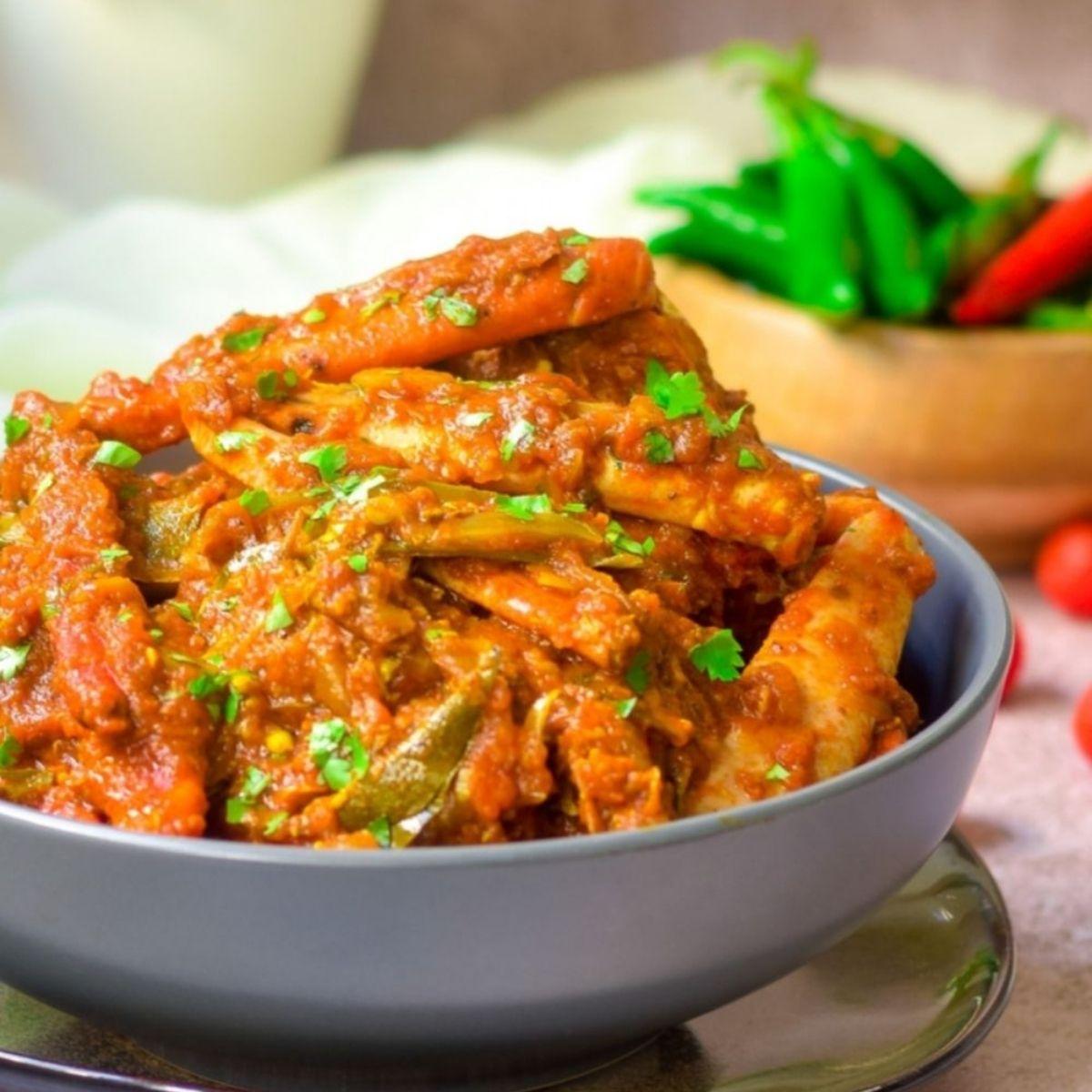 Simple Crab Curry Recipe