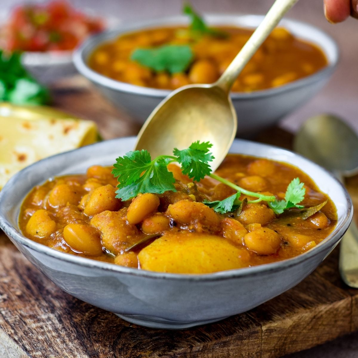 Delicious Kidney Bean Curry